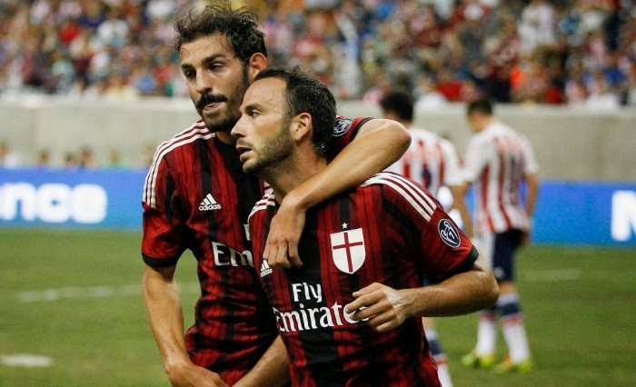 AC Milan Kalah 1-2 dari Valencia di Laga Uji Coba