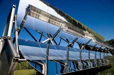 energia solar concentrada en un punto focal
