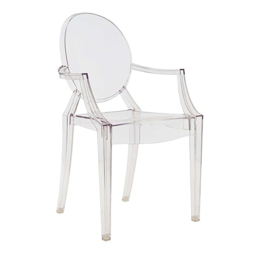 Decor me mch louis ghost chair de philippe starck para kartell - Silla kartell ...