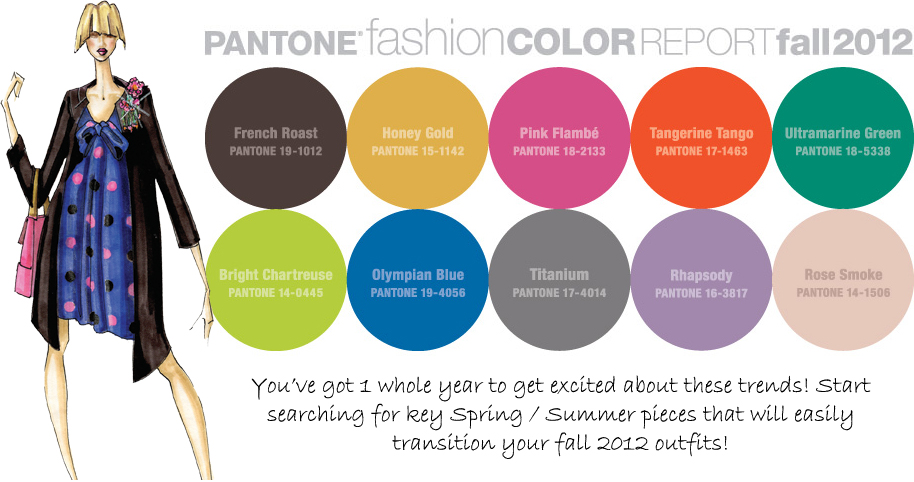 Pantone colors 2014 men