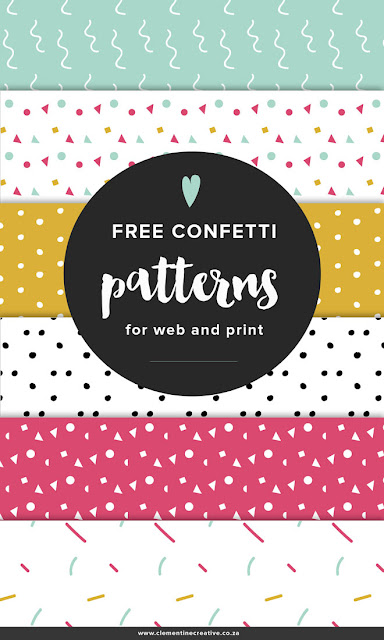 Free confetti papers