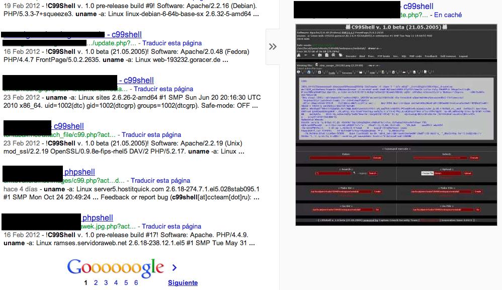 Un informático en el lado del mal: Riesgos en el uso de WebShells en