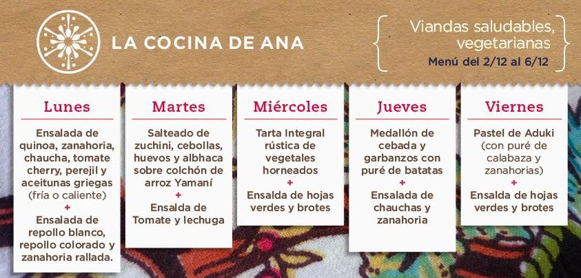 La cocina de ana men fresco y colorido para recibir - Ana en la cocina ...