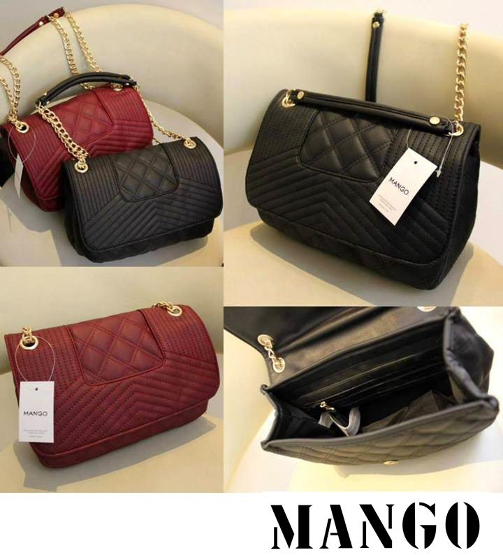 Mango Quilted Chain Sling Bag 3 Colours | 11street Malaysia ...