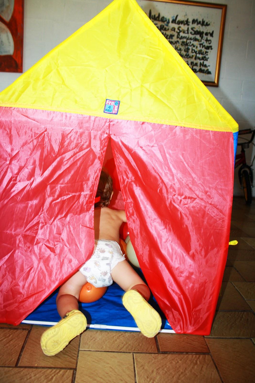 Sassy S Sanity Balloon Tent Tresure