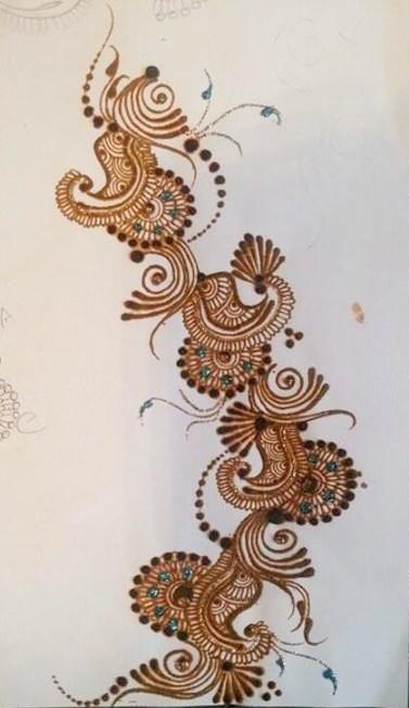 Mehndi Patterns By Ash Kumar : Ash kumar eid mehndi designs best