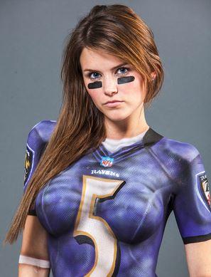 Beauty Babes 2013 Baltimore Ravens Nfl Season Sexy Babe