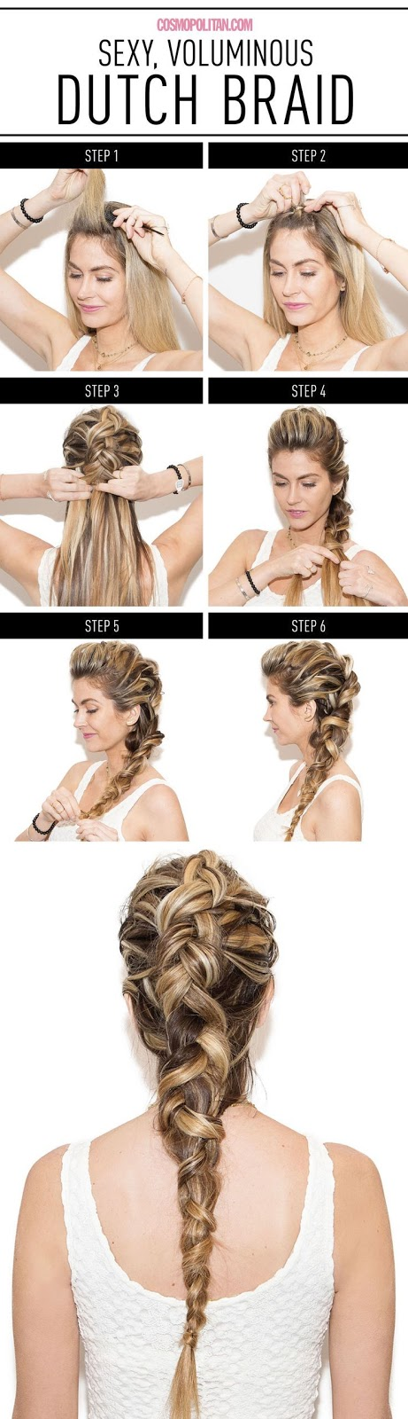 How to Make Dutch Braid in 6 Easy Steps