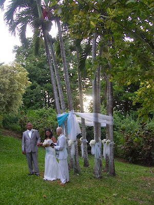 Palm Tree Wedding Arch