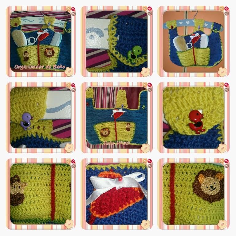 Organizador De Baño A Crochet:Crochet y demos: PAP ORGANIZADOR DE BAÑO