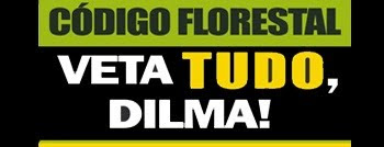 Veta TUDO, Dilma.