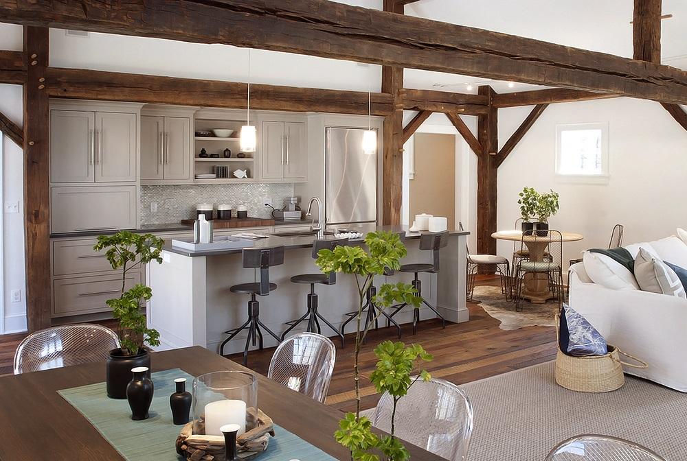 BOISERIE & C.: Cucina e Living