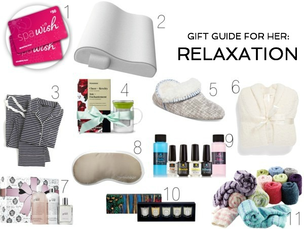 Holiday Gift Guide for Her: Relaxation