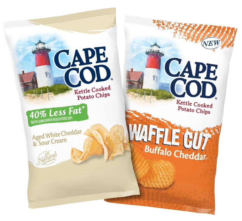 News: Cape Cod - New Buffalo Cheddar Waffle Cut Chips ...