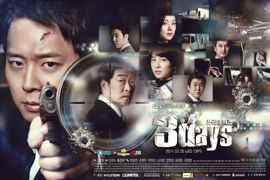 "Sinopsis Drama Korea ""3 Days / Three Days"""