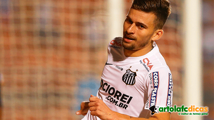 Lucas lima do santos volta a ser favorito do Cartola fc 2015