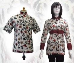 Model baju batik modern 01hd