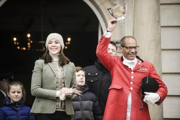 Crown Prince Family Of Denmark Attended Hubertus Hunt