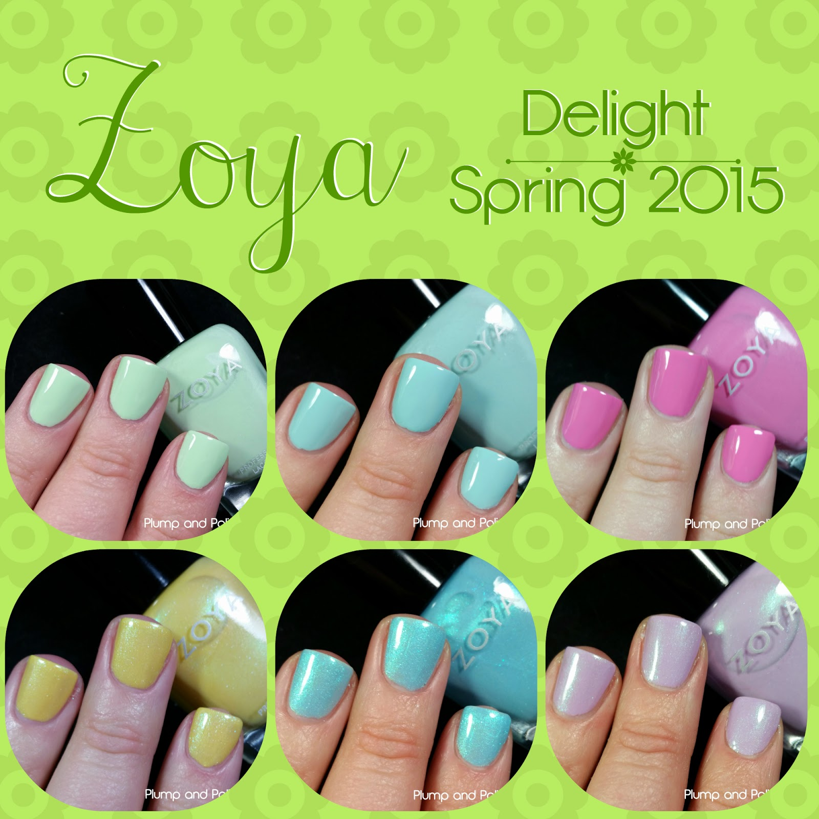 Zoya - Delight Collection Spring 2015