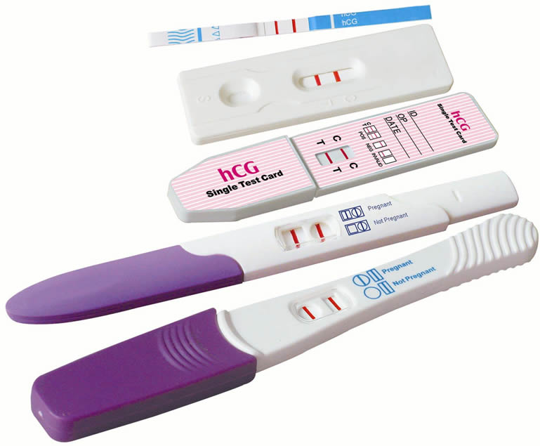 Pregnancy test at home with sugar