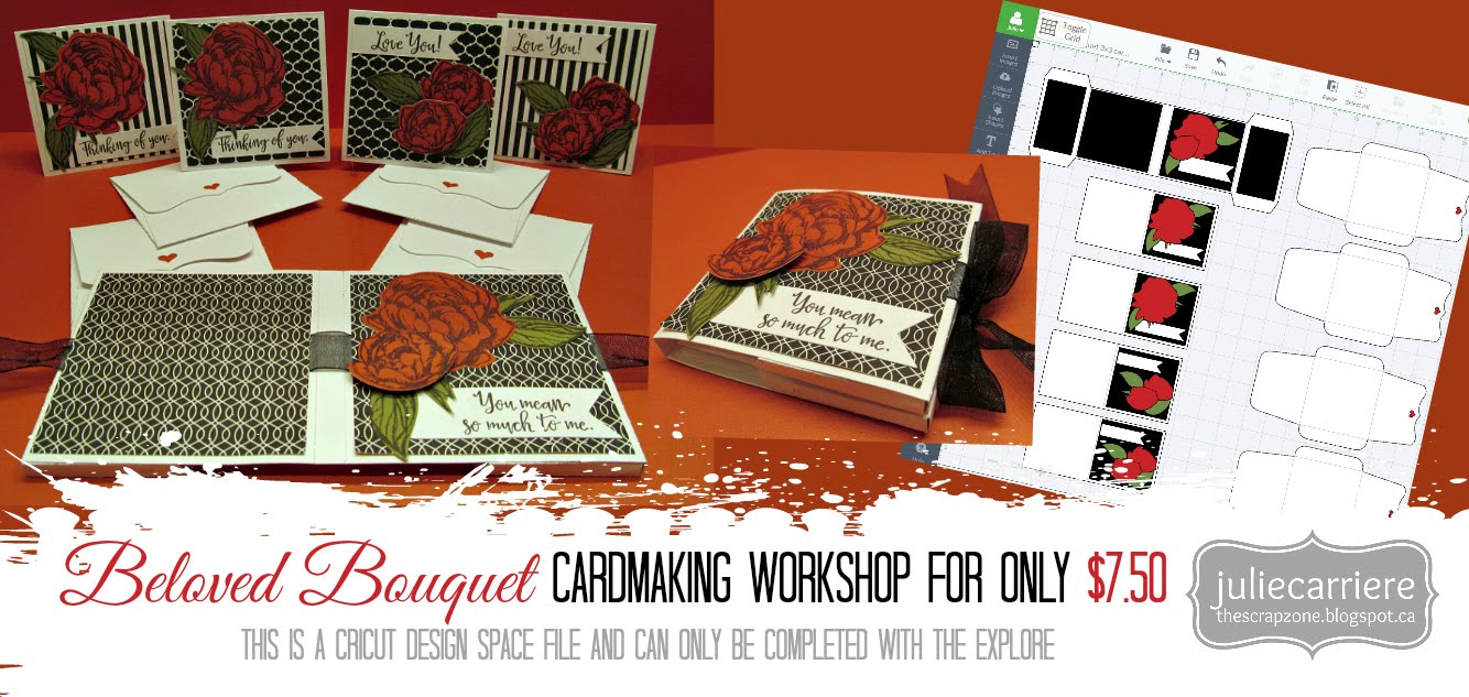 Beloved Bouquet Cardmaking Workshop for EXPLORE only January SOTM