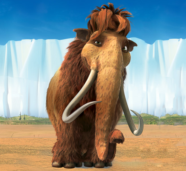 ice age 4 characters peaches - photo #9