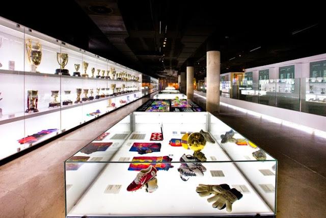Museu de Futebol do Barcelona FC em Barcelona