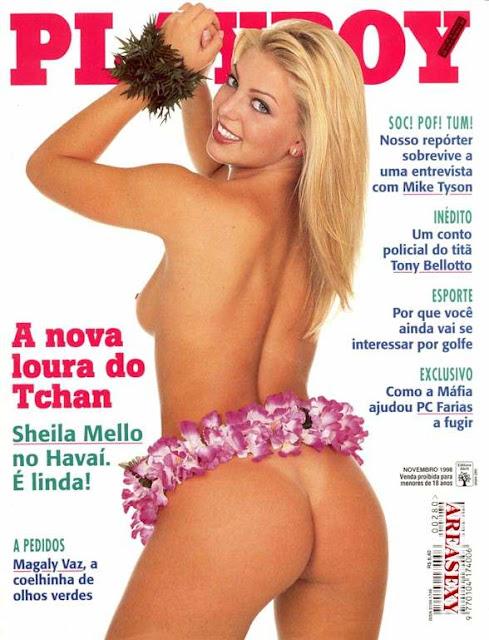 Sheila Mello - Playboy 1998