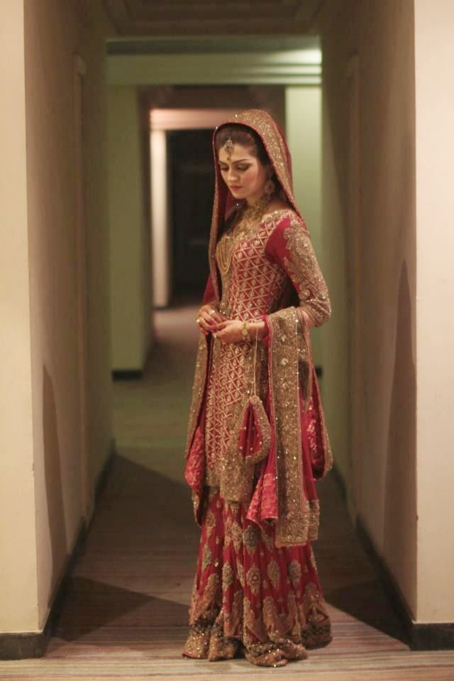 New pakistani bridal dresses 2015 pak fashion for Cheap pakistani wedding dresses