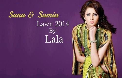 Sana Samia Lawn 2014