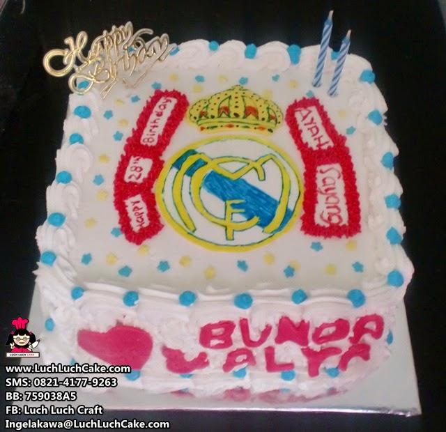 Kue Tart Ulang Tahun Real Madrid