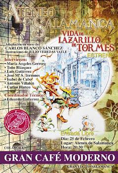 Presentación en El Ateneo de Salamanca.
