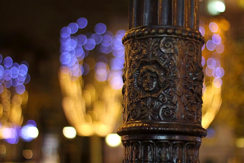 Illuminations de Noël sur les Champs Elysées