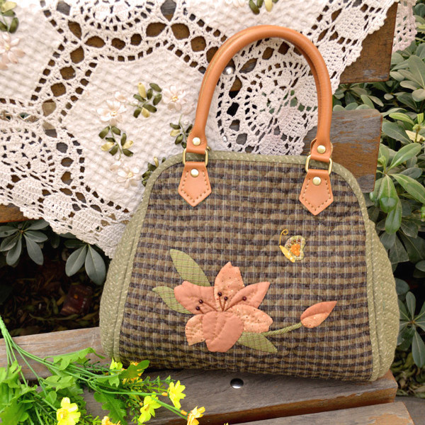 Quilted Bag How To Sewing In The Photos Anese Quilting