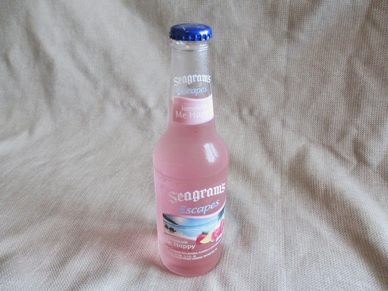 Bottle of Seagram's Escapes Watermelon and Guava Flavored Malt Beverage