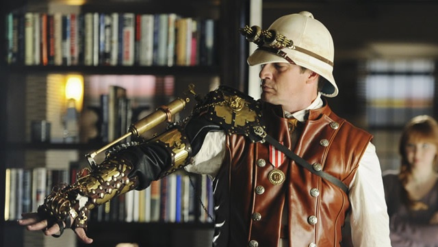 steampunk nathan fillion castle cosplay