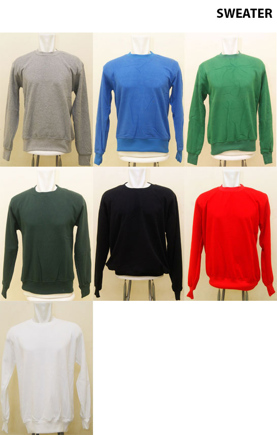 Sweater Polos Cotton Fleece