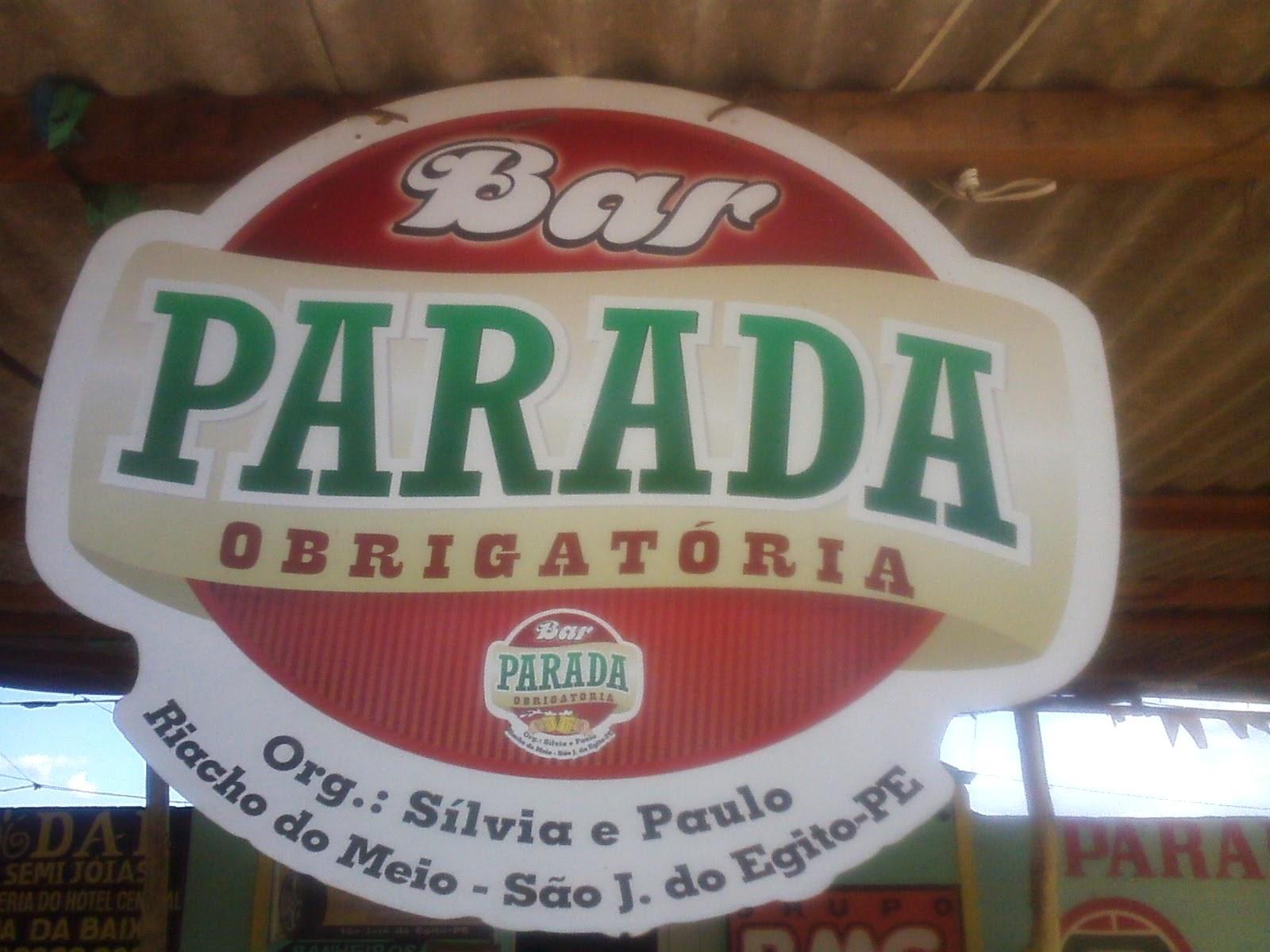 BAR PARADA OBRIGATÓRIA