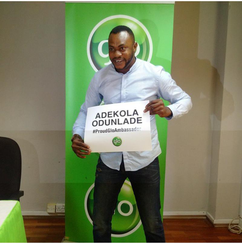 globacom signs 29 new ambassadors, including mavin records trio. picture shows adekola odunlade