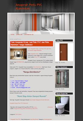 Pintu PVC Aluminium