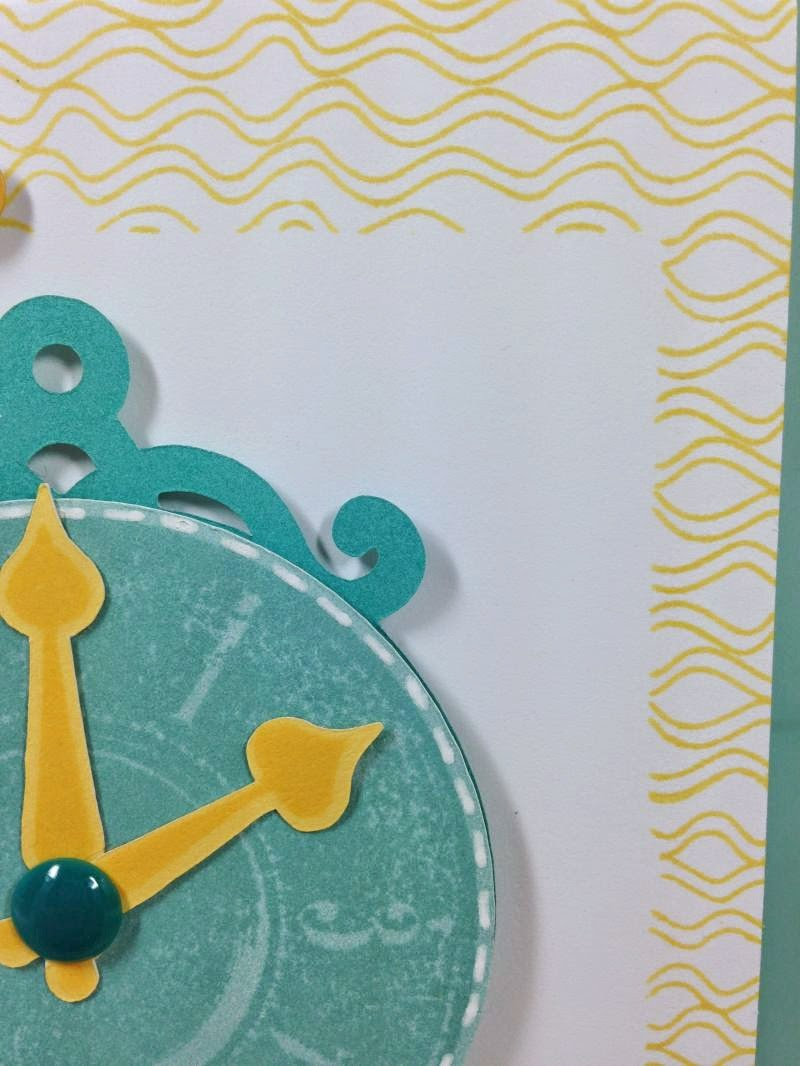 Cricut Artiste It's that time again! card background stamping