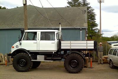 Unimog 416 For Sale >> OLD PARKED CARS.: Reader Submission: 1970 Mercedes-Benz Unimog 416 DOKA.