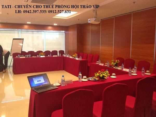 Cho thuê Phòng hội thảo 20 chỗ - 45 chỗ tại Hà Nội
