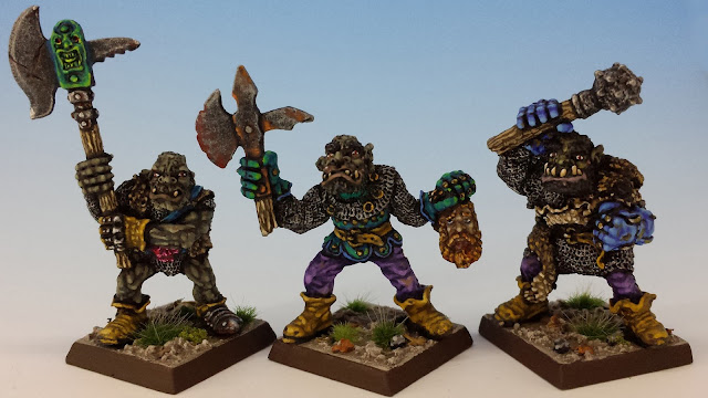 IC601 Black Orcs 7-9, Citadel (sculpted by Bob Olley, 1988)
