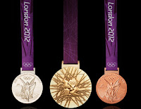 2012 Olympic medals