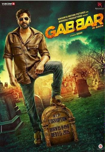 New Movie DvdScr Rip Gabbar is Back (2015)