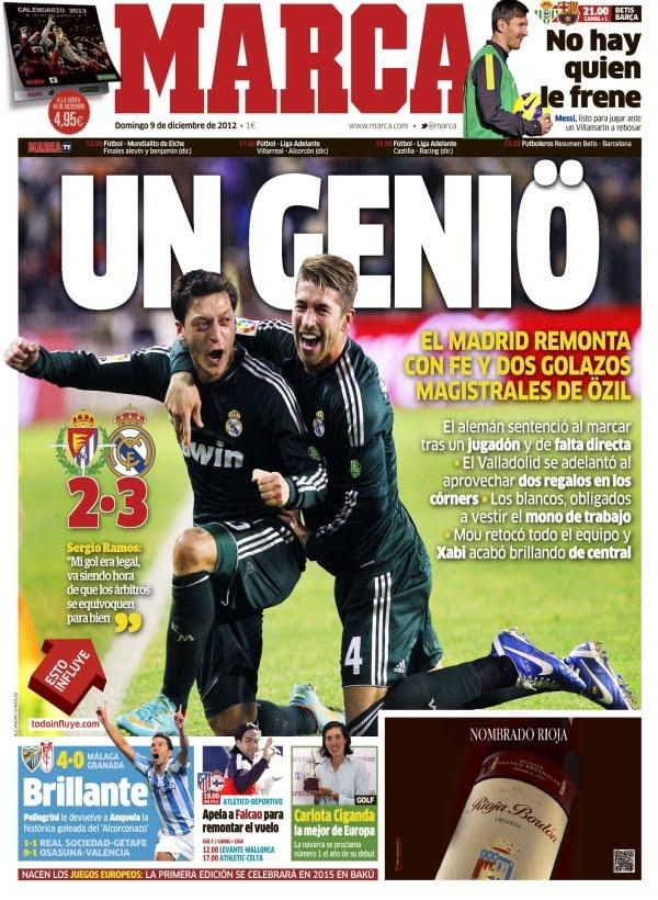 Mesut Özil, un genio anda suelto por Madrid