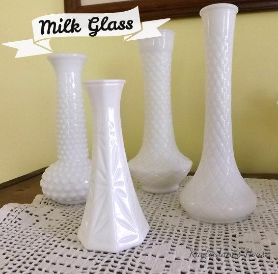 Kayteejanes House Milk Glass