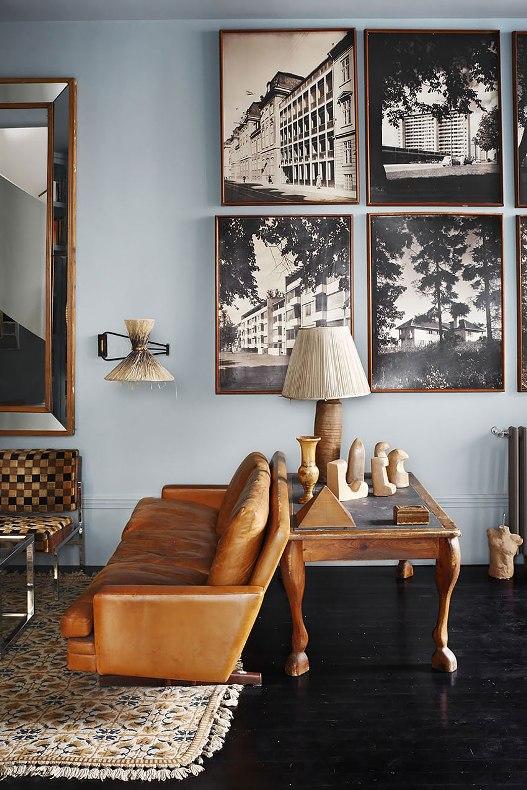 un espacio masculino y vintage