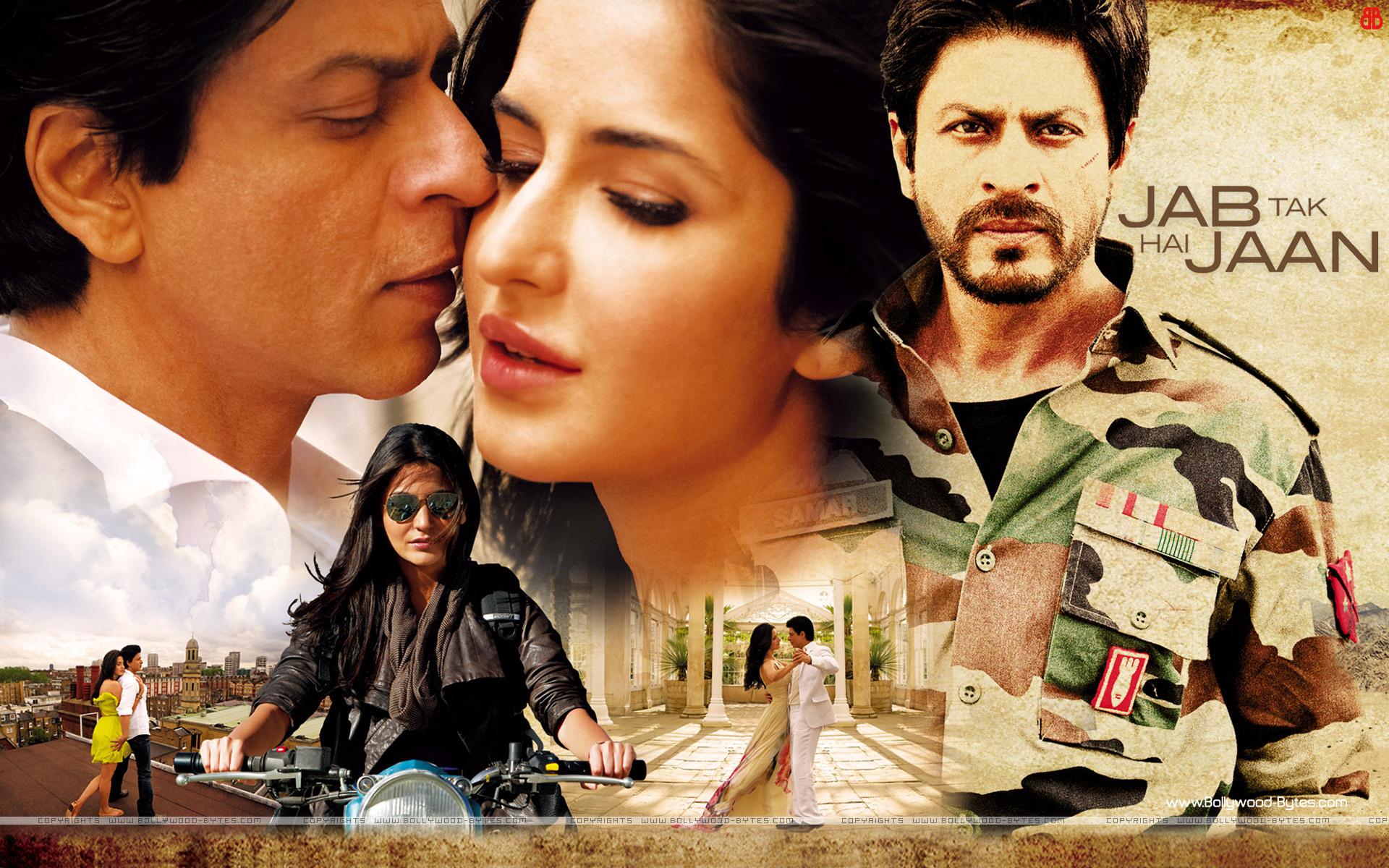 Jab Tak Hai Jaan HD Wallpapers Starring Shahrukh Khan ...